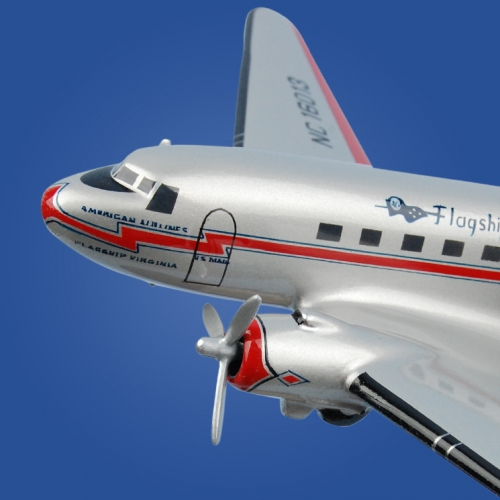DC-3 American Airlines Aircraft Model