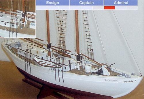 Bowdoin Ship Model Kit