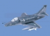 A-4M Skyhawk Marines Aircraft Model
