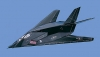 F-117A Stealth Fighter Nighthawk Aircraft Model