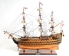 HMS Victory Copper Hull Tall Ship Model