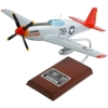 P-51C Mustang Tuskegee Kitten Aircraft Model Signed Charles McGee