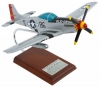 P-51D Mustang Old Crow Aircraft Model Signed by Bud Anderson